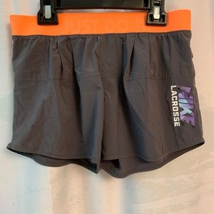 Nike grey shorts